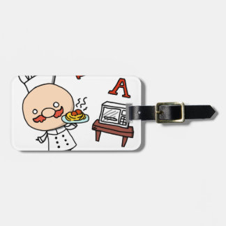 I'm a chef! luggage tag