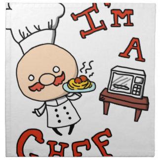 I'm a chef! napkin