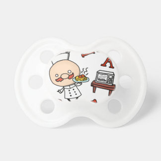 I'm a chef! pacifier