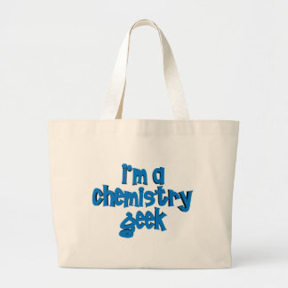 I'M A CHEMISTRY GEEK TEXT JUMBO TOTE BAG