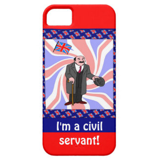I'm a civil servant iPhone 5 case