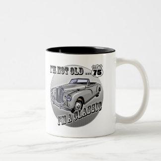 I'm A Classic 75th Birthday Gifts Two-Tone Coffee Mug