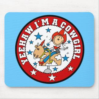 I'm a Cowgirl Mousepad
