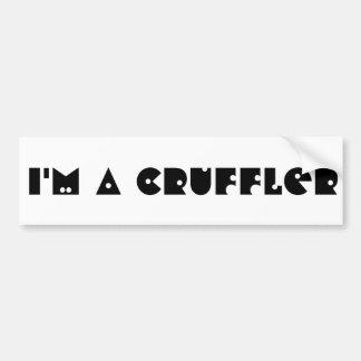 I'm a Cruffler Car Bumper Sticker