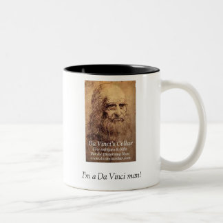 I'm a Da Vinci man! Two-Tone Coffee Mug