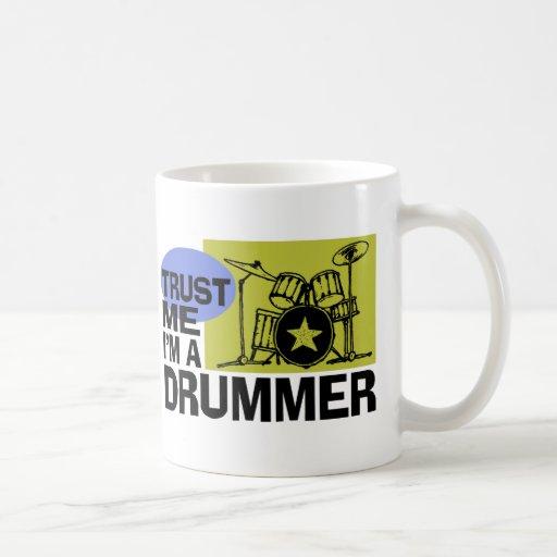I'm A Drummer Mug