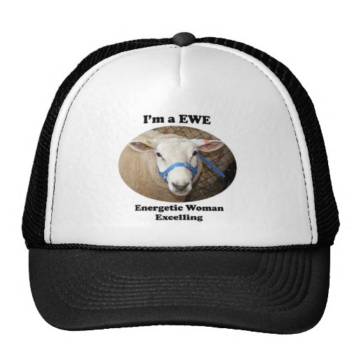 I'm a EWE: Energetic Woman Excelling Hat
