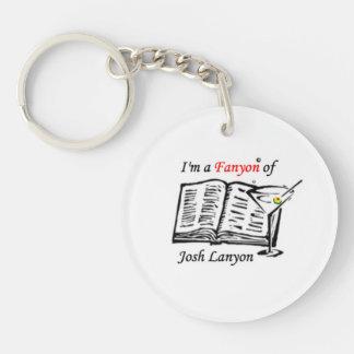 I'm a Fanyon of Josh Lanyon keychain