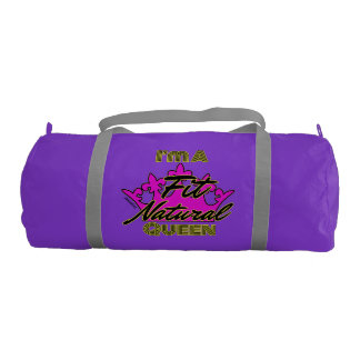 I'm a Fit Natural Queen Gym Bag