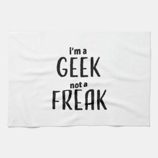I'm a Geek Not a Freak Kitchen Towel