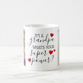 I'm A Grandpa, What's Your Super Power? Coffee Mug