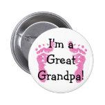 I'm a Great Grandpa! Buttons
