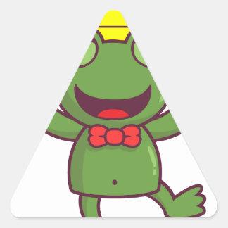 I'm a Green Frog Sticker