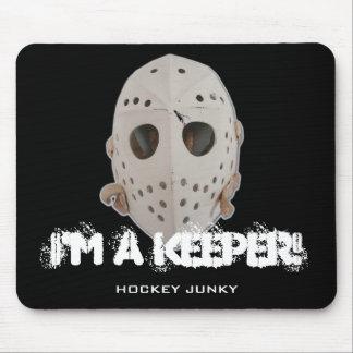 I'M A KEEPER! MOUSE PAD
