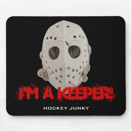 I'M A KEEPER! MOUSE PADS