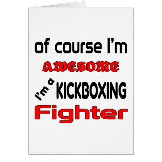 I'm a Kickboxing Fighter Card