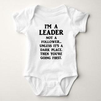I'm A Leader Not A Follower... Baby Bodysuit