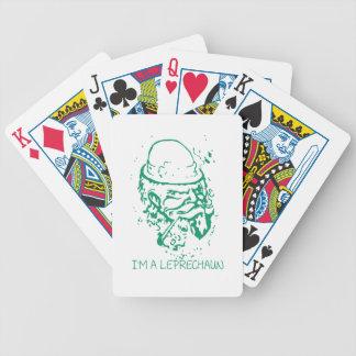Im A Leprechaun Bicycle Playing Cards
