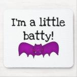 I'm a Little Batty Mouse Pads