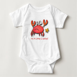 I'm A Little Crabby Baby Bodysuit