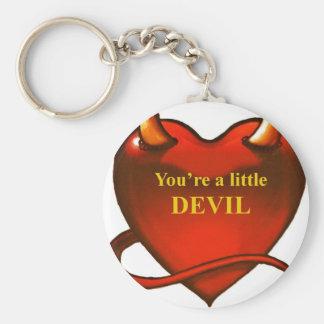 I'm a little devil keychain
