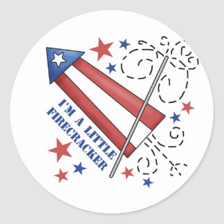 I'm A Little Firecracker Stickers
