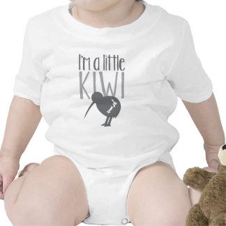 I'm a little kiwi with cute New Zealand bird Bodysuit