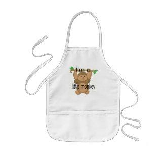Im a little monkey kids apron
