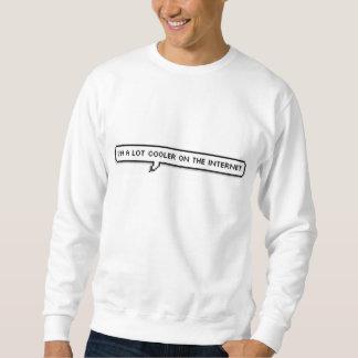 I'm a lot cooler on the internet shirt