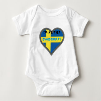I'm A Lttle Swedeheart Baby Clothes Baby Bodysuit