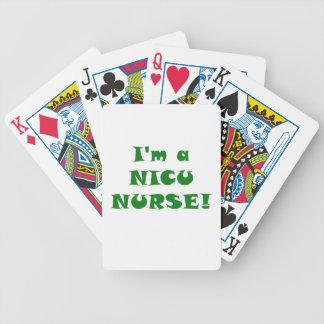 Im a Nicu Nurse Bicycle Playing Cards