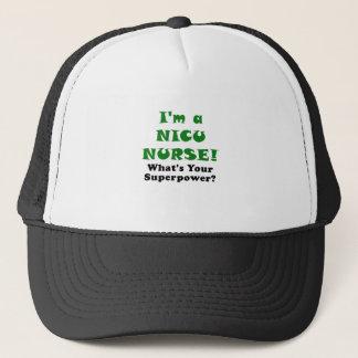 Im a Nicu Nurse Whats Your Superpower Trucker Hat