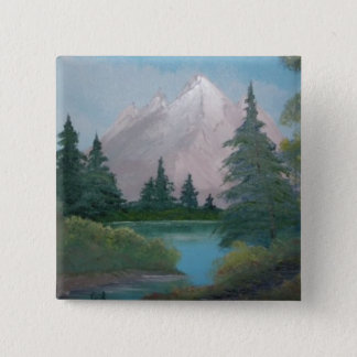 I'm a painter / artist 2 inch square button