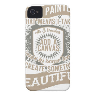 I'm A Painter iPhone 4 Case-Mate Cases