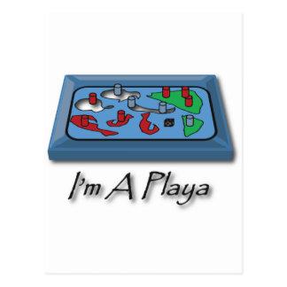 I'm A Playa Postcard