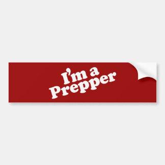 I'm a Prepper Bumper Sticker