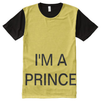I'M A PRINCE All-Over-Print T-Shirt