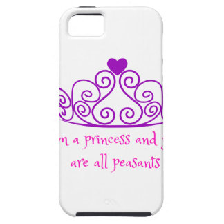 I'm a princess - funny girly product iPhone 5 cover