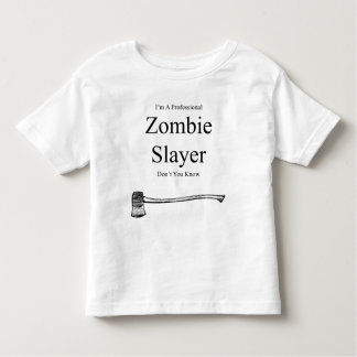 I'M A Professional Zombie Slayer Kids T-shirt