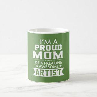 I'M A PROUD ARTIST'S MOM COFFEE MUG