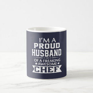 I'M A PROUD CHEF's HUSBAND Classic White Coffee Mug