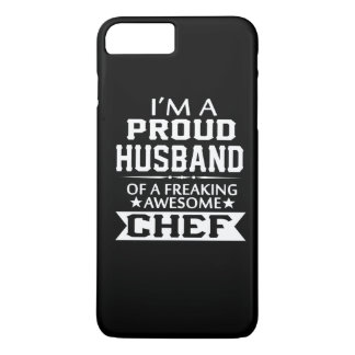 I'M A PROUD CHEF's HUSBAND iPhone 7 Plus Case