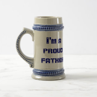 I'm A Proud Father 18 Oz Beer Stein