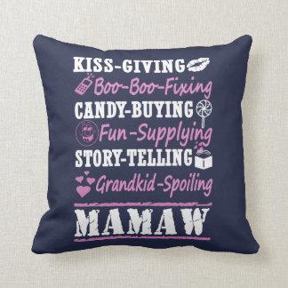 I'M A PROUD MAMAW! THROW PILLOW