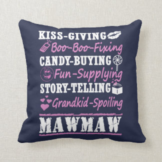 I'M A PROUD MAWMAW! THROW PILLOW