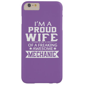 I'M A PROUD MECHANIC'S WIFE BARELY THERE iPhone 6 PLUS CASE