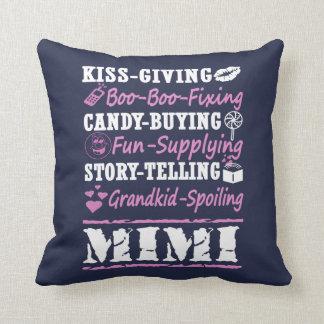 I'M A PROUD MIMI! THROW PILLOW