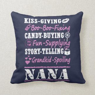 I'M A PROUD NANA! THROW PILLOW