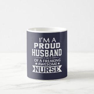 I'M A PROUD NURSE's HUSBAND Coffee Mug