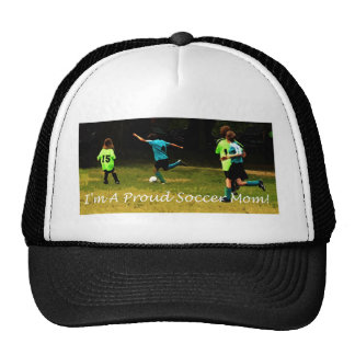 I'm a proud soccer mom! hat